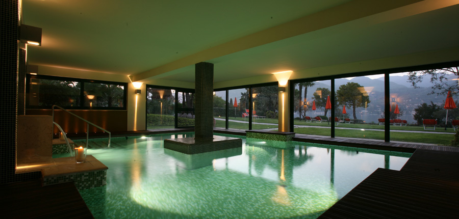 Casimiro Village Park Hotel, Gulf of Salo, Italy - indoor spa pool.jpg